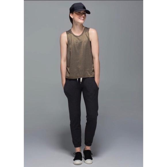 457ef0d960 lululemon athletica Pants - Lululemon Serenity Pant - Heathered Mod Black